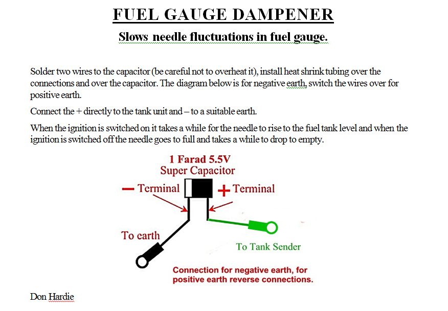 FUEL GAUGE DAMPENER technical austin healey 3000 wiring diagram at gsmx.co