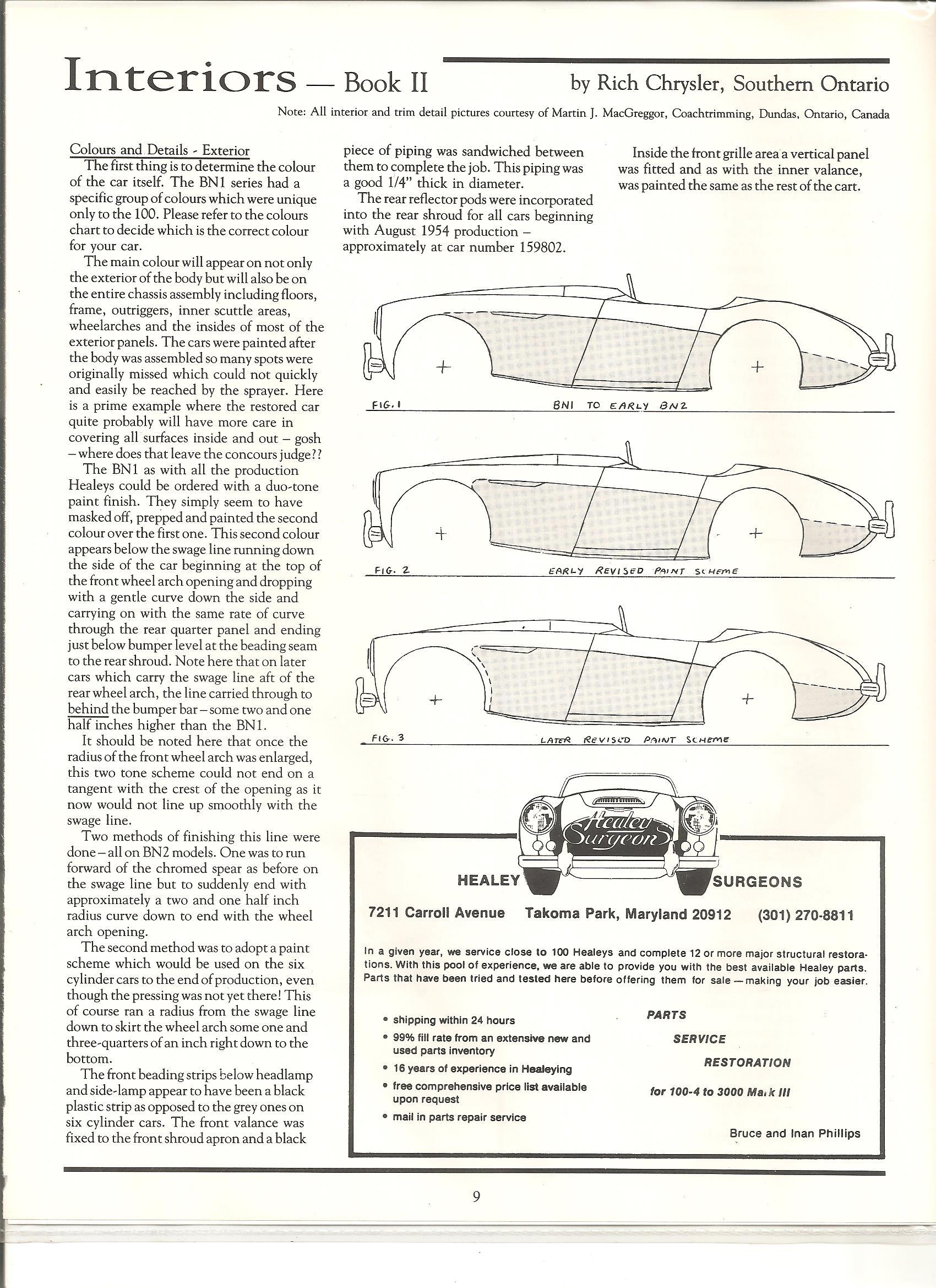 Austin Healey 3000 Wiring Diagram Great Installation Of Diagrams Technical Rh Healey6 Com 1960 Bt7 1962